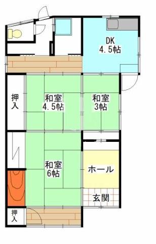 有限会社グローバル住宅 外観写真 高知市愛宕町 中古住宅 2SDKの外観写真