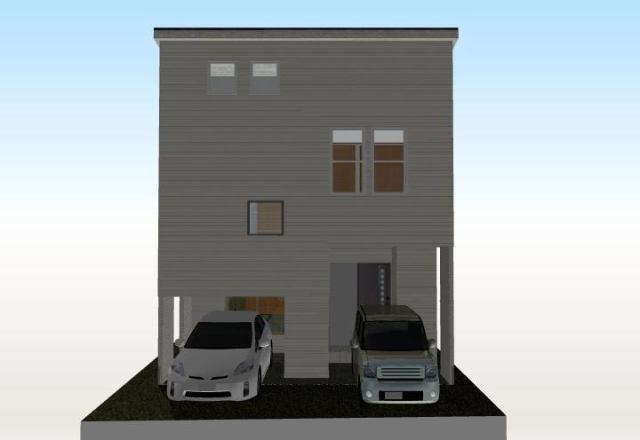 有限会社グローバル住宅 外観写真 高知市鏡川町 新築一戸建て 4LDKの外観写真
