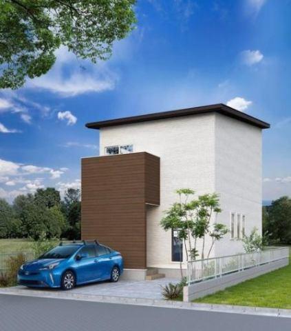 有限会社グローバル住宅 外観写真 高知市城山町 新築一戸建て 2LDKの外観写真