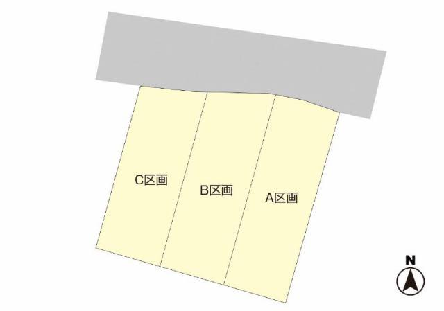 有限会社グローバル住宅 区画図 高知市高須 新分譲地 耐震等級3 高気密の区画図