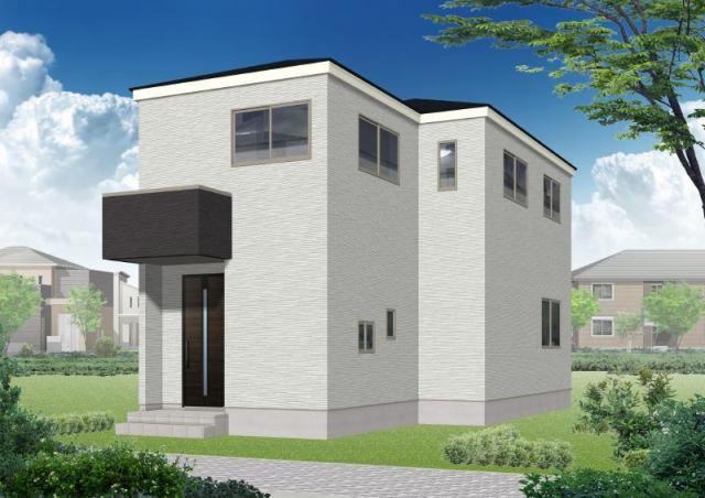 有限会社グローバル住宅 外観写真 高知市役知町 新築一戸建 耐震等級3の外観写真