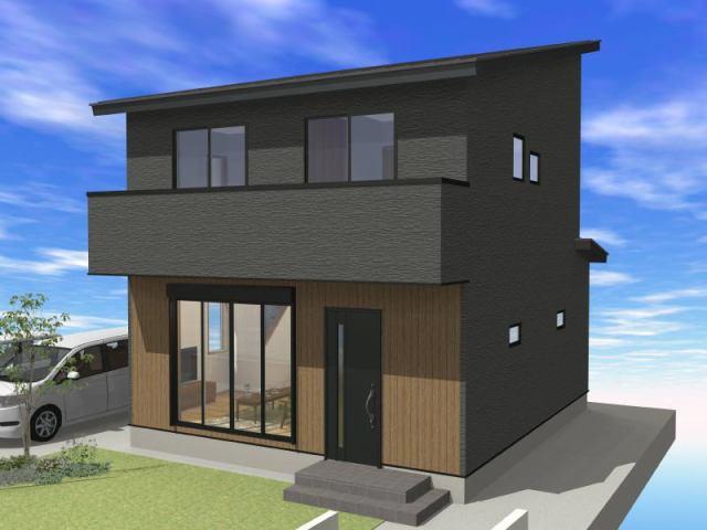 有限会社グローバル住宅 外観写真 高知市朝倉丙 新築一戸建て 3LDKの外観写真