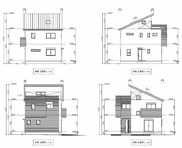 有限会社グローバル住宅 外観写真 高知市百石町 新築一戸建て オール電化の外観写真