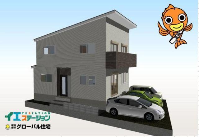 有限会社グローバル住宅 内観写真 高知市旭天神町 新築住宅 並列3台駐車可 4LDKの内観写真