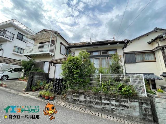 有限会社グローバル住宅 外観写真 高知市中秦泉寺 中古住宅 津波被害想定外 4DKの外観写真