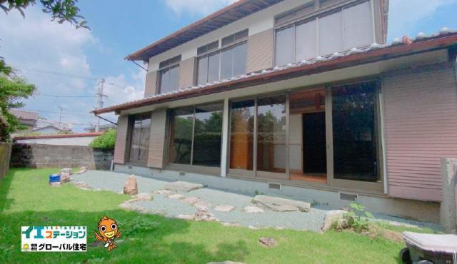 有限会社グローバル住宅 外観写真 高知市瀬戸西町 高台の中古住宅 6LDKの外観写真