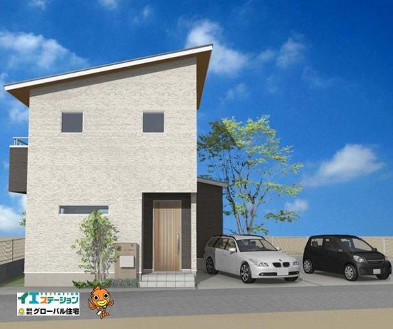 有限会社グローバル住宅 外観写真 高知市神田  家が好きになる土地 新造成地の外観写真