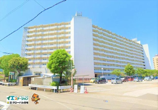 有限会社グローバル住宅 外観写真 高知市鴨部 鏡川コーポA棟 7Fで眺望良好の外観写真