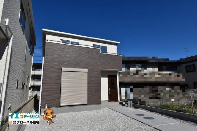 有限会社グローバル住宅 外観写真 高知市曙町 新築住宅 オール電化 4LDK 2号棟の外観写真