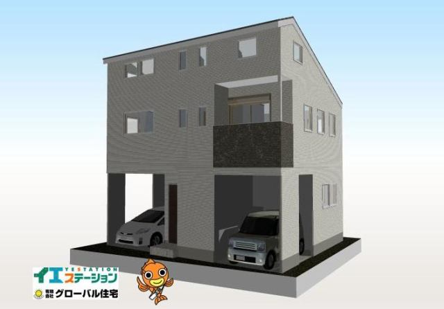 有限会社グローバル住宅 外観写真 高知市北本町 新築住宅 ロフト有 2LDKの外観写真