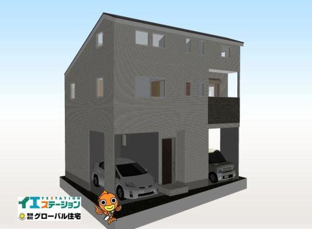 有限会社グローバル住宅 内観写真 高知市北本町 新築住宅 ロフト有 2LDKの内観写真