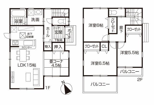 株式会社エールエステート 間取り 地下鉄橋本駅まで徒歩9分です。