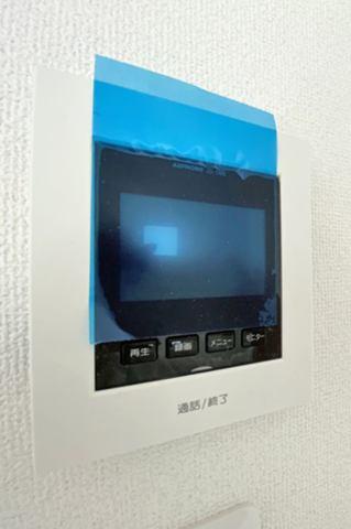 (TV付モニターホン)録画機能付きで留守中も安心です!