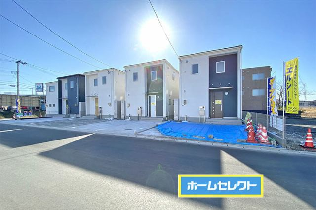 市名坂小学校まで徒歩11分現地(2021年1月)撮影