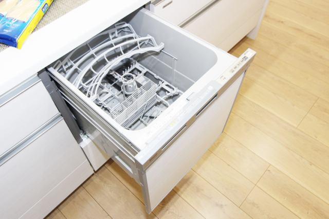 (食洗機)家事を軽減 食洗機!節水効果も圧倒的!