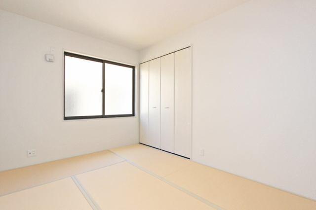 (同仕様・和室)一部屋あると嬉しい和室。客間、晩酌、家族団らんetc・・・色々使えますね♪