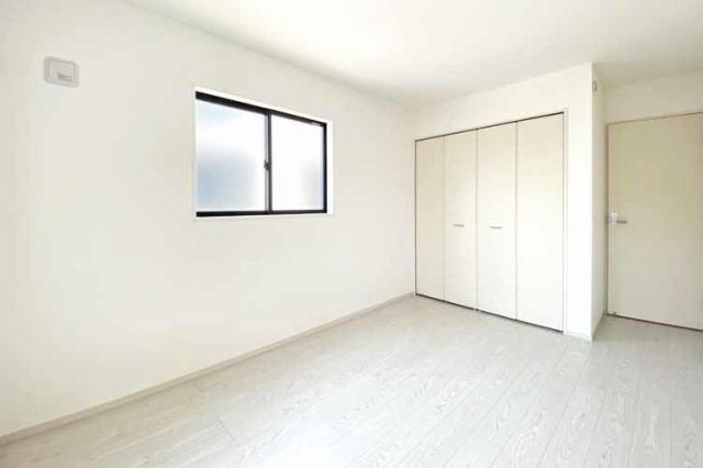 (洋室)全居室6帖以上で広々です♪新しいマイホームでお子様の1人部屋デビューも♪