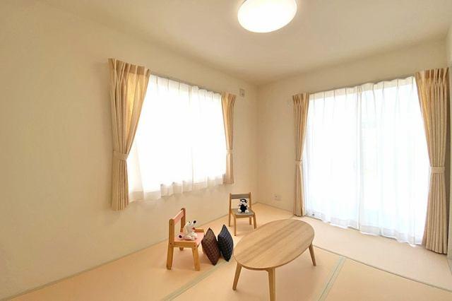 (同仕様・和室)ご両親やお友達が泊まりにきた時にゆったりくつろげる和室です♪