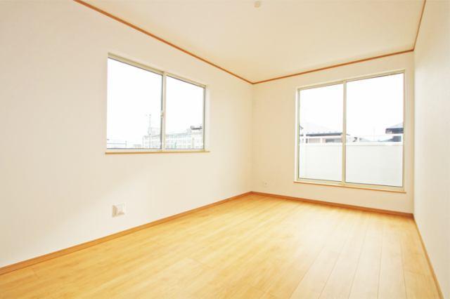 (同仕様・洋室) 2階の洋室はすべて6帖以上の仕様です。