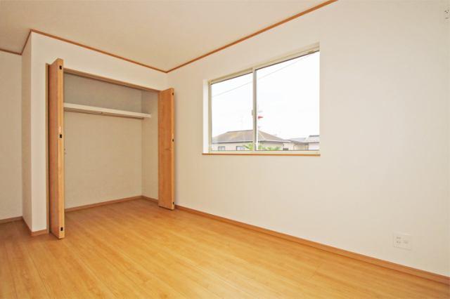 (洋室) 2階の洋室はすべて6帖以上の仕様です。