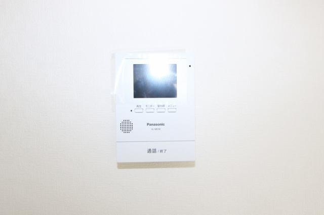 (TV付モニターホン)誰が来た?夜でも見える赤外線!