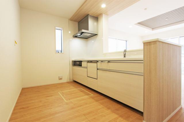 (キッチン) 使い勝手GOOD広々キッチン!便利な食洗機付きです♪