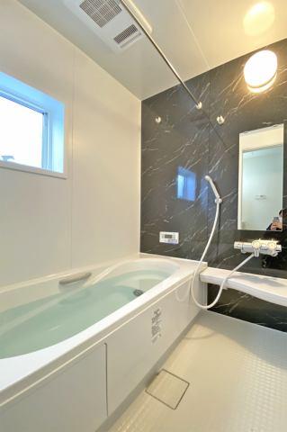 (浴室)浴室換気乾燥機付き♪ 梅雨・冬の時期が長い東北地方には必需品です!