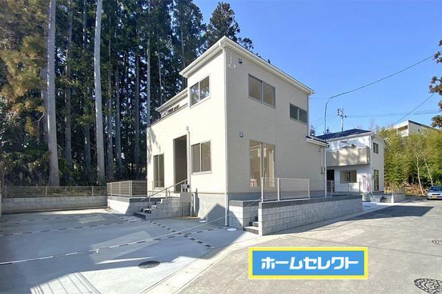 (5号棟・現地写真)全棟50坪以上のゆとりある敷地!