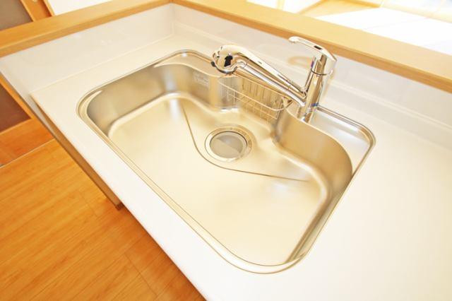 (同仕様・浄水器付混合水栓)塩素の匂いを完全除去!美味しいお米が炊けちゃいます!