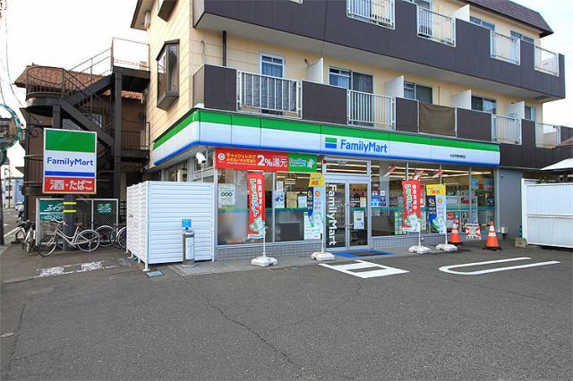 ファミリーマート仙台荒巻神明店 徒歩8分