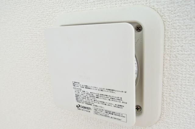 24時間機械制御で給気と排気を行うことで、室内の空気を常にきれいに保ちます。