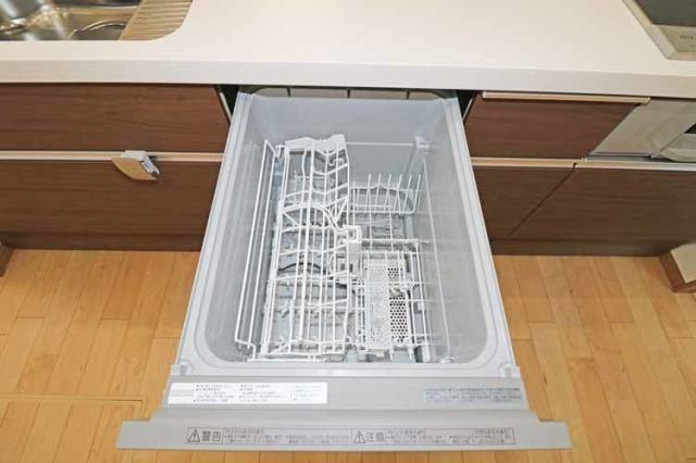 (食洗機)家事の負担を軽減する食洗機付き!忙しい時間に嬉しい時短アイテム♪