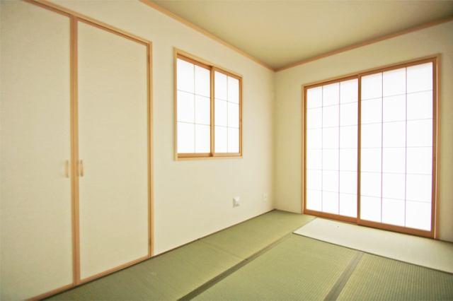 (和室)やっぱり和室があると落ち着きますね!子育てスペースとしても重宝します!