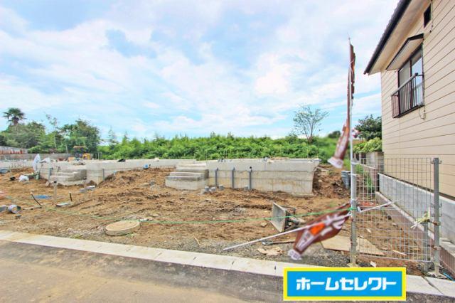 (現地写真)制振装置設置住宅で建物の変形も軽減