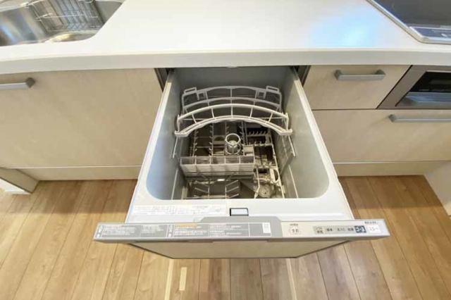 (食洗機)家事の負担を軽減する食洗機付き!
