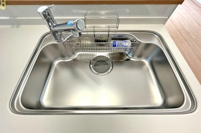 (浄水器付混合水栓)毎日のお料理もおいしいお水で♪水回りは常ピカピカにしましょう♪