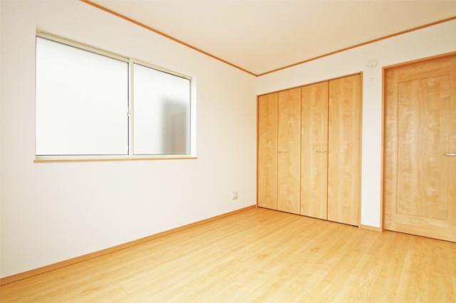 (同仕様・洋室)全室2面採光!風通しもGOODです!