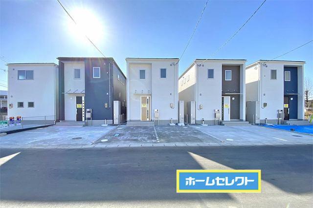 1・2・3・4棟は駐車2台OK!5号棟は5台までOK!現地(2021年1月)撮影