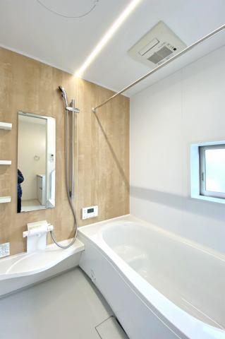 (浴室) 浴室換気乾燥機付き♪東北の長い冬・梅雨には大活躍です!花粉対策にも役立ちます♪