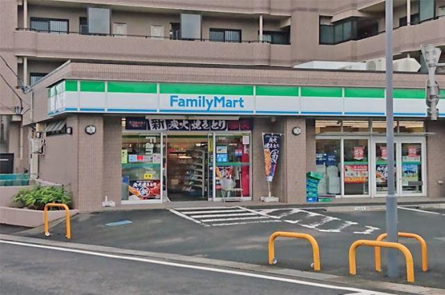 ファミリーマート西多賀四丁目店まで徒歩11分