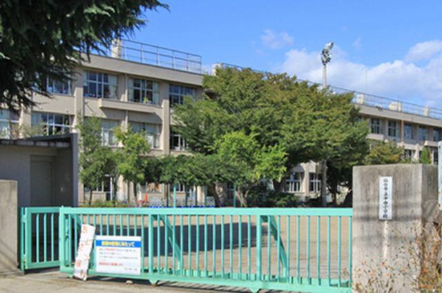 中田小学校まで徒歩3分