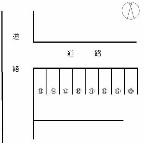 ロッジ久保田 駐車場 佐賀市...