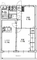 FS Apartmentの間取り
