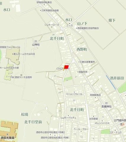 COGアパート 地図