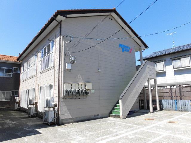 マリナイーストI 酒田市豊里字大割4番地の20 1K 2.7万円 礼金無し