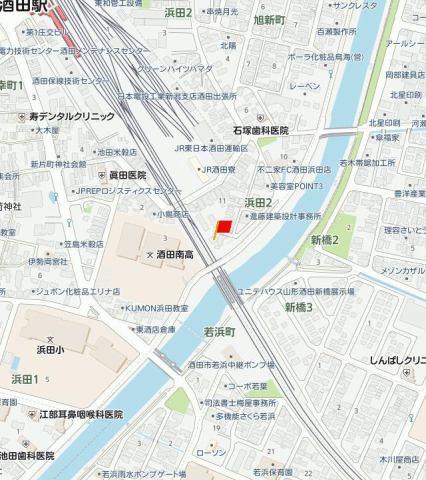 東和荘 地図
