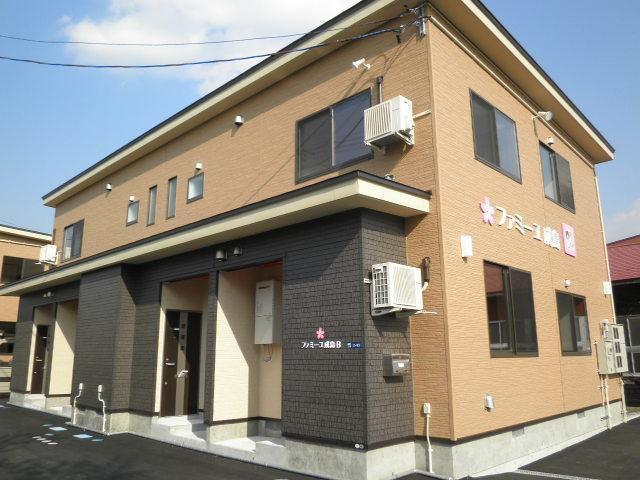 ファミーユ成島B 米沢市成島町3丁目2-58 2LDK 5.8万円 敷金礼金無し
